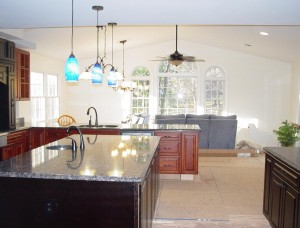 Kitchen to Living Room
